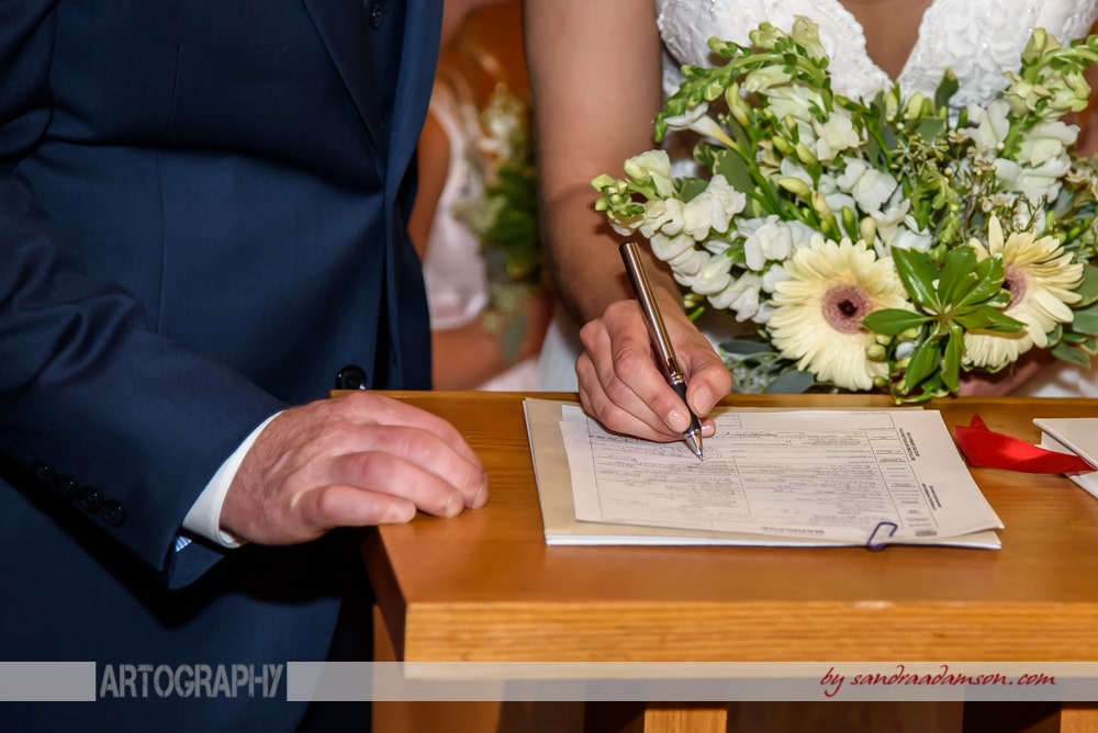 Halifax, Dartmouth, NS, Nova Scotia, wedding, photography, photographer, images, image, photo, photos, church, ceremony, bride, groom, register, signed, marriage certificate