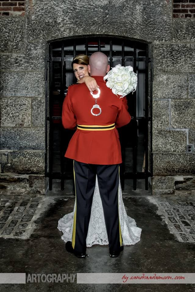 Halifax, Beaverbank, NS, Nova Scotia, wedding, photography, photographer, images, image, photo, photos, kinsac center, bride, groom, rcmp regalia, keiths brewery, bride, groom, handcuffs