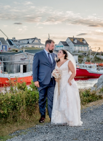 halifax ns wedding photographer, halifax wedding photographers, halifax engagement photographer, engaged, sandra adamson studios, peggys cove wedding, ocean wedding, rustic, fishermans boat, bride, groom