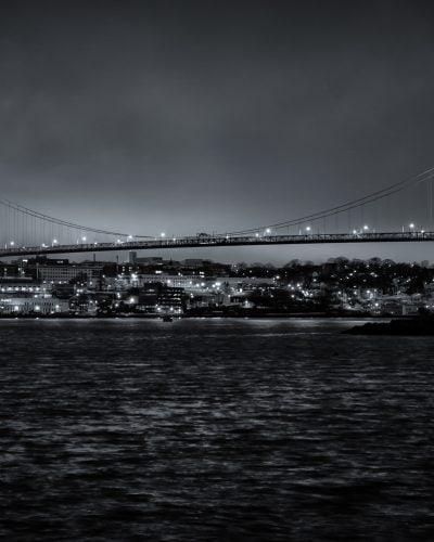nova scotia photography fine art angus macdonald bridge night photography