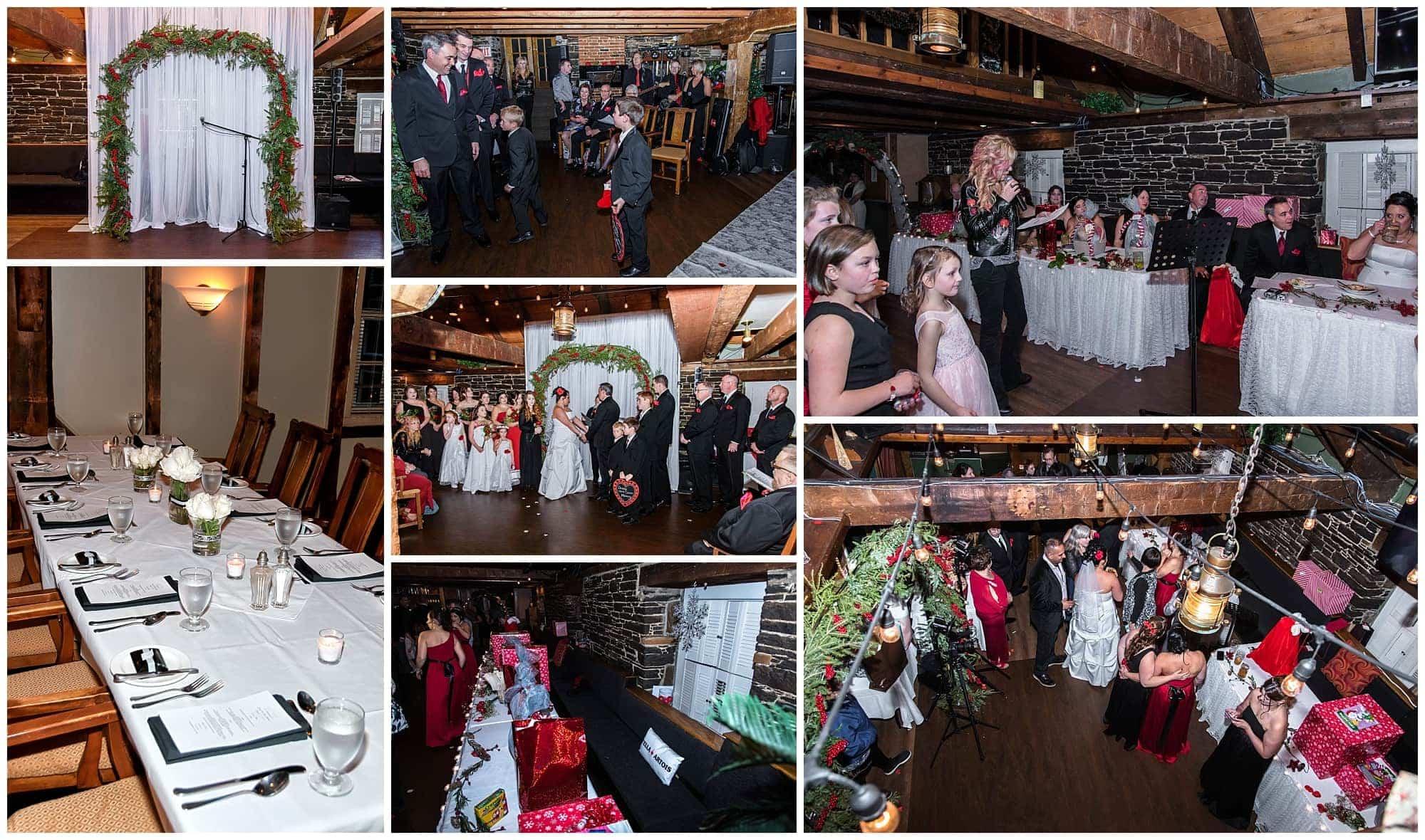 Lower Deck Tap Room weddings, barn style wedding venue in Halifax.