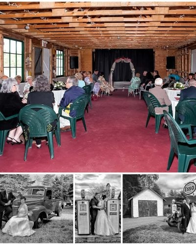 Weddings at Memory Lane Heritage Village, a barn style venue.