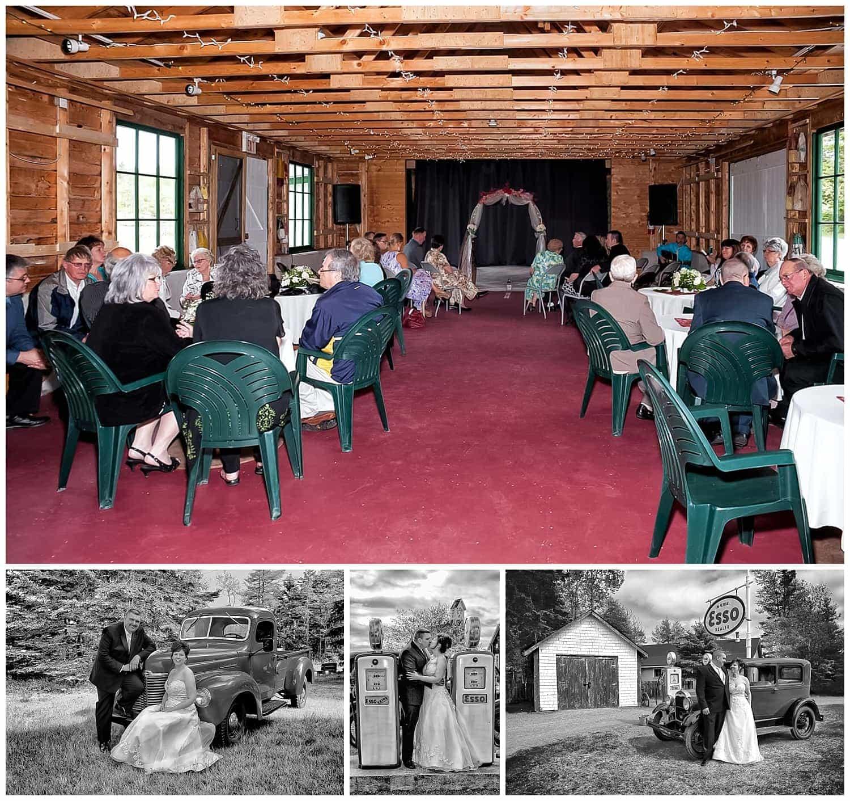 Weddings at Memory Lane Heritage Village, a barn style venue.