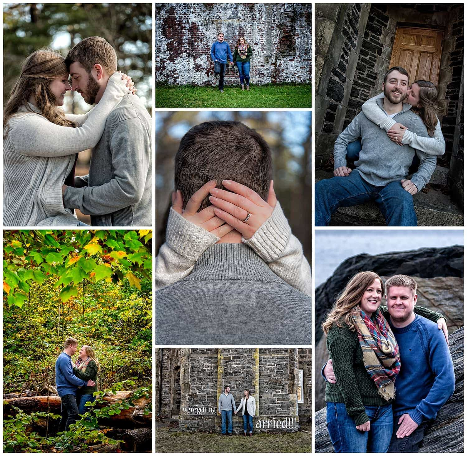 Point Pleasant Park engagement photos of cute couples by a halifax wedding photographer.