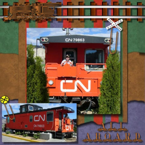 Halifax NS wedding photographer Sandra Adamson's life on the road as a long hauler with caboose in Kamloops BC.