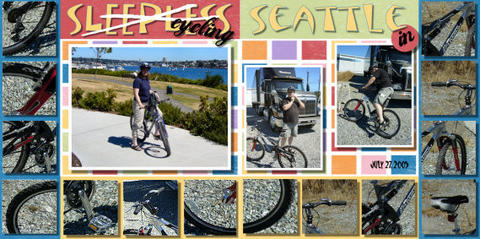 Nova Scotia wedding photographer Sandra Adamson's life on the road as a long hauler cycling in Seattle.