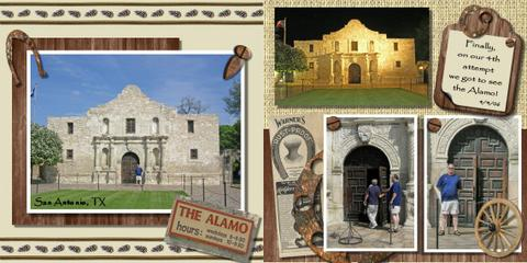Halifax wedding photographer Sandra Adamson's life on the road as a long hauler at the Alamo in Texas.