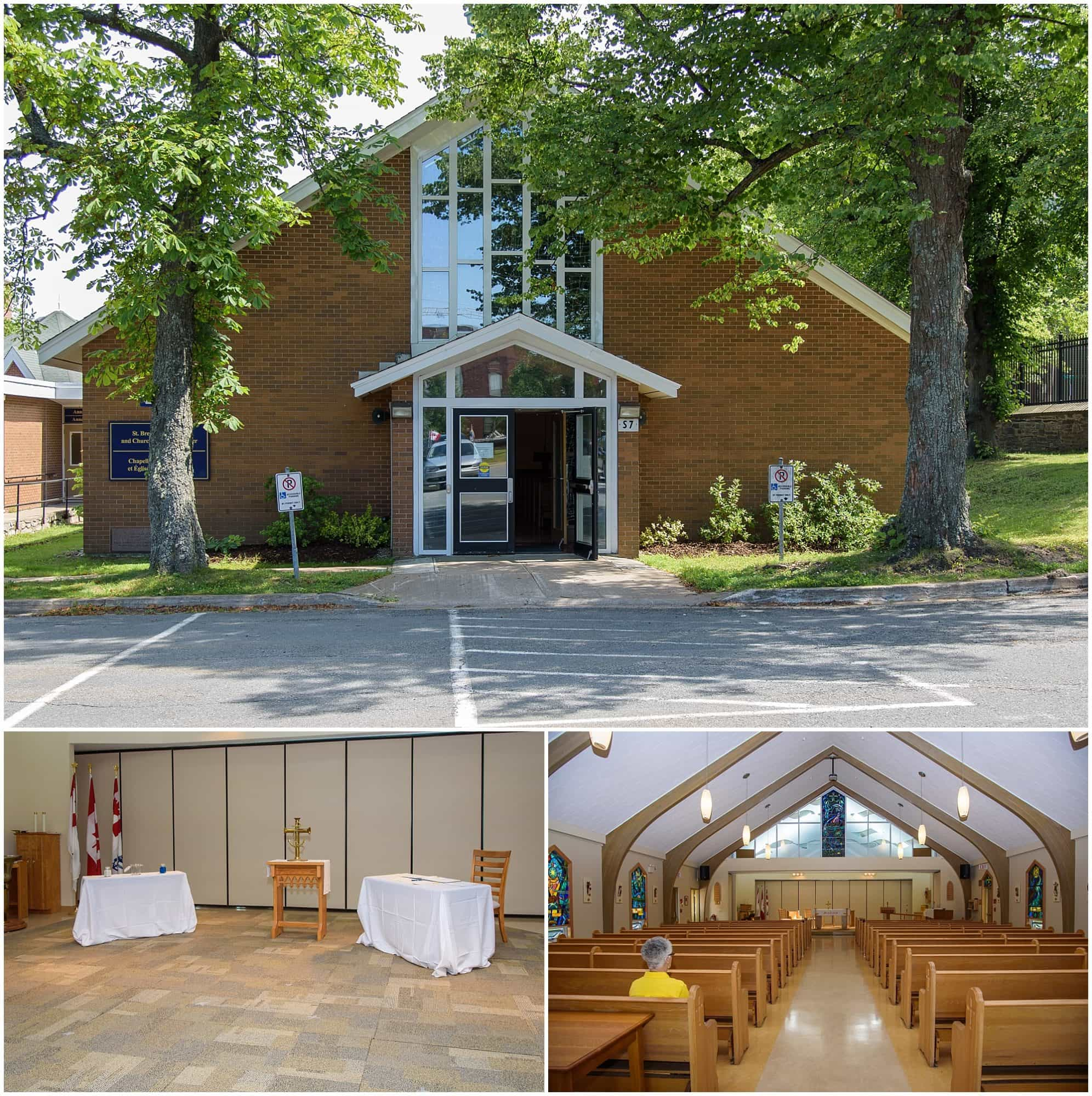 St Brendan's Chapel at the Stadacona for weddings by Juno Tower.